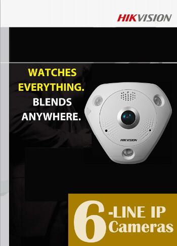 HIKVISION 6-Line-IP-Kamera pdf Videoüberwachung