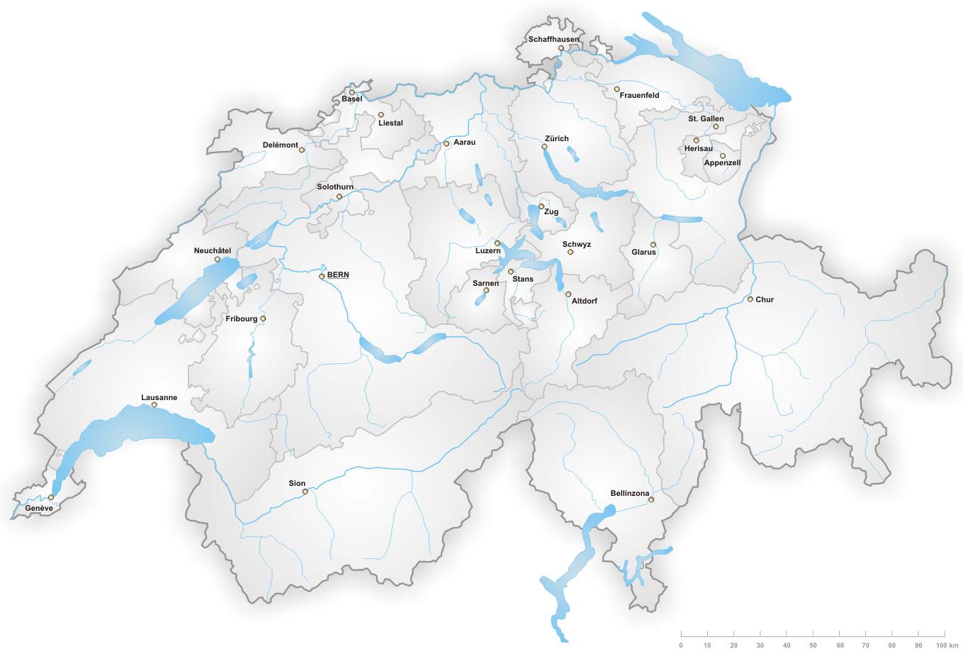 Sicherheit Beratung - FocusControl-Alarmanlagen-Standorten_Schweiz
