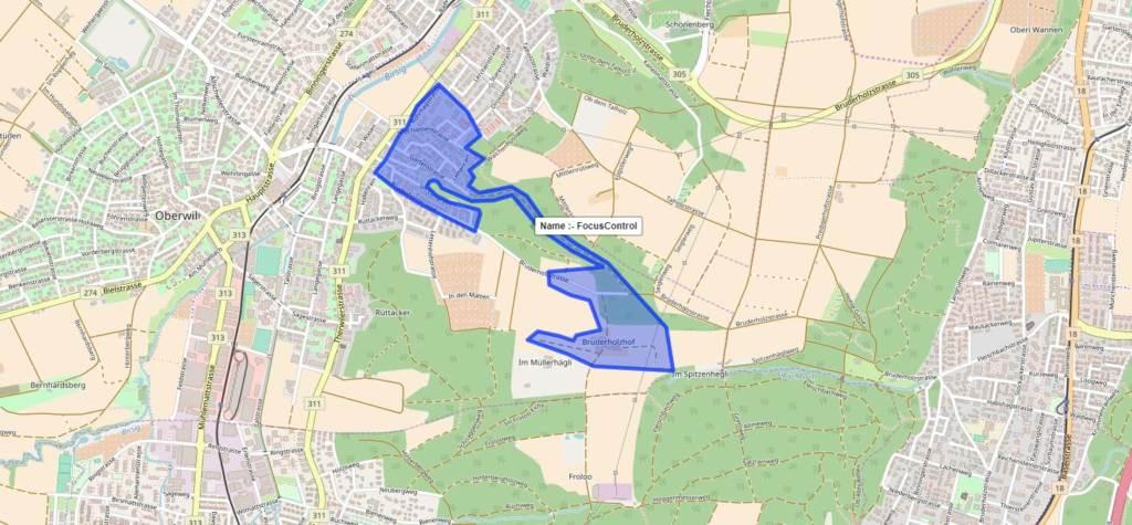 Geofence-virtuellem-Zaun-GPS-Tracker