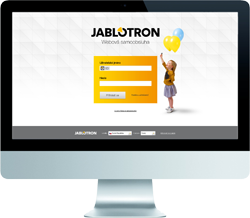 Web Self Service MyJablotron