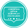 Sicher und zertifiziert UR Nebelnebelsysteme sind nach den europäischen Standards zertifiziert, die Nebelflüssigkeit ist getestet und absolut sicher für Menschen, Tiere, Objekte und hinterlässt keine Reste.