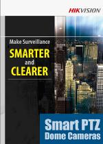 Videoüberwachung HIKVISION Smart-PTZ-Dome IP-Kamera