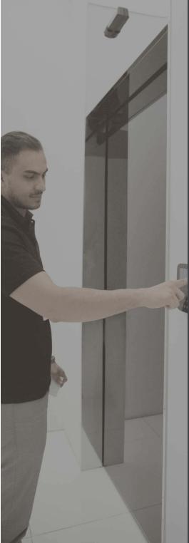 Zutritt-Kontrolle-Büro