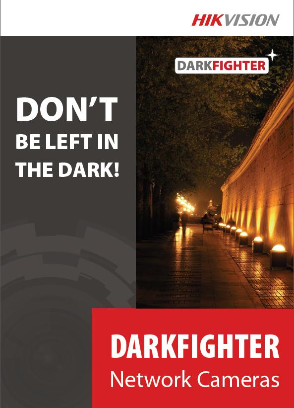 Videoüberwachung HIKVISION DarkFighter IP-Kamera Broschüre