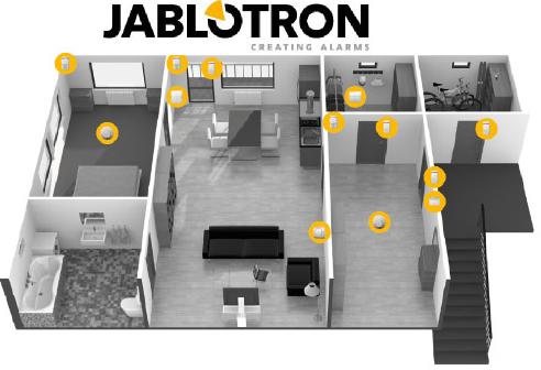 JABLOTRON 100 Beispielinstallation Schweiz