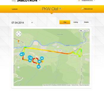 GPS-Ortungssysteme Trackingsystem