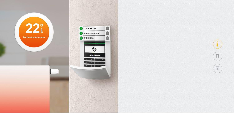 JABLOTRON 100 Heizungssteuerung Alarmsysteme für Wohnung